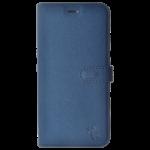 Étui Folio Trendy Bleu pour Huawei Honor 10 Lite