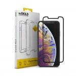 Verre Trempé SoSkild Crystal Glass Noir pour Apple iPhone XS Max