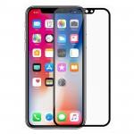 Verre Bord à Bord 2.5D Noir pour Apple iPhone XR