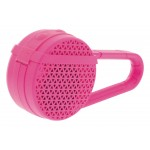 Enceinte Bluetooth Mono 3W avec Microphone Rose Sweex