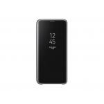 Étui Samsung Clear View Noir pour Galaxy S9 Plus