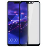 Verre Trempé Bord à Bord 2.5D Noir pour Huawei P Smart 2019