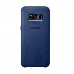 Coque Samsung Alcantara Bleu EF-XG950AS pour Samsung S8