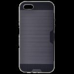 Coque Defender Card Gris pour Apple iPhone 5/5S/SE