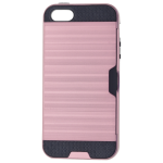 Coque Defender Card Rose pour Apple iPhone 5/5S/SE