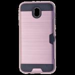 Coque Defender Card Rose pour Samsung J7 2017