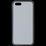 Coque Souple Noir et plaque Alu pour Apple iPhone 5/5S/SE