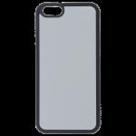Coque Souple Noir et plaque Alu pour Apple iPhone 6/6S