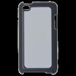 Coque Rigide Noir et plaque Alu pour Apple iPod Touch 4
