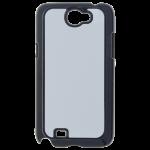 Coque Rigide Noir et plaque Alu pour Samsung Note