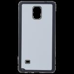 Coque Souple Noir et plaque Alu pour Samsung Note 4