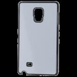Coque Souple Noir et plaque Alu pour Samsung Note Edge