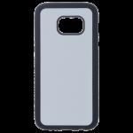 Coque Souple Noir et plaque Alu pour Samsung S7