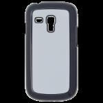 Coque Rigide Noir et plaque Alu pour Samsung S3 Mini