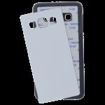 Coque Rigide Noir et plaque Alu pour Samsung A3