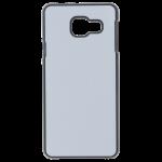 Coque Rigide Noir et plaque Alu pour Samsung A3 2016