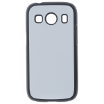 Coque Rigide Noir et plaque Alu pour Samsung Ace 4