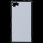 Coque Rigide Noir et plaque Alu pour Sony Z5 Compact