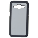 Coque Rigide Noir et plaque Alu pour Samsung Core I8260