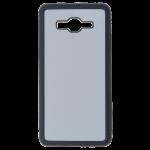 Coque Rigide Noir et plaque Alu pour Samsung Grand Prime