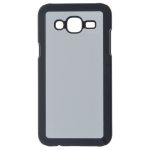 Coque Rigide Noir et plaque Alu pour Samsung J5