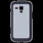 Coque Rigide Noir et plaque Alu pour Samsung S Duos S7562