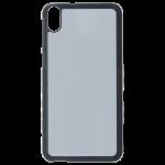 Coque Rigide Noir et plaque Alu pour HTC Desire 820