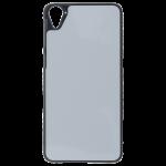 Coque Rigide Noir et plaque Alu pour HTC Desire 826