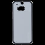 Coque Rigide Noir et plaque Alu pour HTC One M8