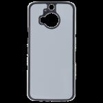 Coque Rigide Noir et plaque Alu pour HTC One M9+