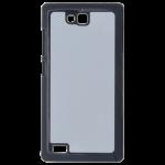 Coque Rigide Noir et plaque Alu pour Huawei Honor 3C