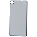 Coque Rigide Noir et plaque Alu pour Huawei P8