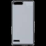 Coque Rigide Noir et plaque Alu pour Huawei Honor P7 Mini