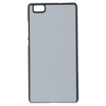 Coque Rigide Noir et plaque Alu pour Huawei P8 Lite