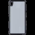 Coque Rigide Noir et plaque Alu pour Sony M4 Aqua