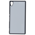 Coque Rigide Noir et plaque Alu pour Sony Z4