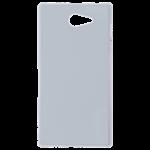 Coque Rigide Noir et plaque Alu pour Sony M2