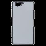 Coque Rigide Noir et plaque Alu pour Sony Z2 Compact