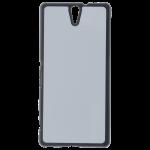 Coque Rigide Noir et plaque Alu pour Sony C5 Ultra