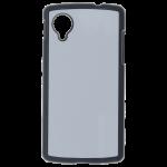 Coque Rigide Noir et plaque Alu pour LG Nexus 5