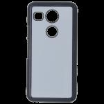 Coque Rigide Noir et plaque Alu pour LG Nexus 5X