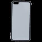 Coque Souple Noir et plaque Alu pour Apple iPhone 6/6S Plus