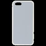 Coque Souple Transparent et plaque Alu pour Apple iPhone 5/5S/SE