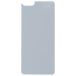 Coque Souple Transparent et plaque Alu pour Apple iPhone 6/6S Plus