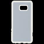 Coque Souple Transparent et plaque Alu pour Samsung S6 Edge+
