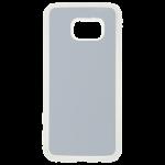 Coque Souple Transparent et plaque Alu pour Samsung S7 Edge