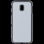 Coque Rigide Noir et plaque Alu pour Samsung J3 2017