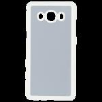 Coque Rigide Transparent et plaque Alu pour Samsung J5 2016