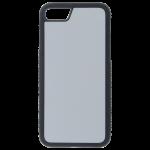 Coque Souple Noir et plaque Alu pour Apple iPhone 7/8