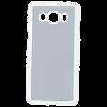 Coque Souple Transparent et plaque Alu pour Samsung J5 2016